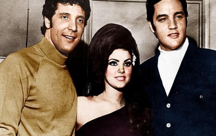 Tom Jones y Priscilla Presley, ¿juntos?
