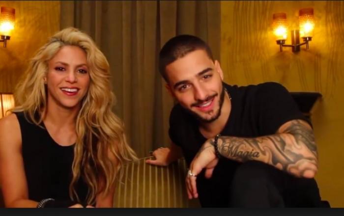 Shakira y Maluma, claros favoritos para los Latin American Music Awards