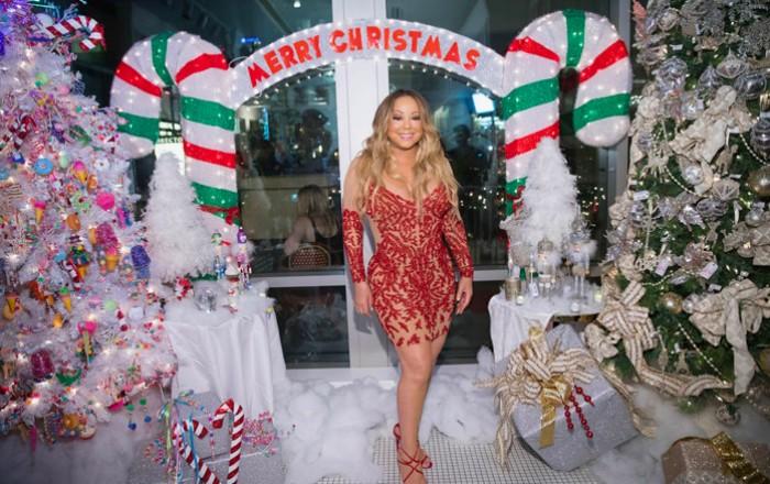 Mariah Carey es la primera en estrenar canción de Navidad
