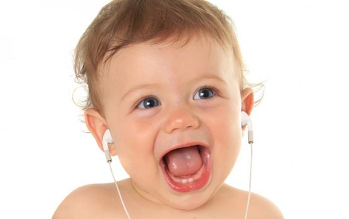 Beneficios de la música para bebés
