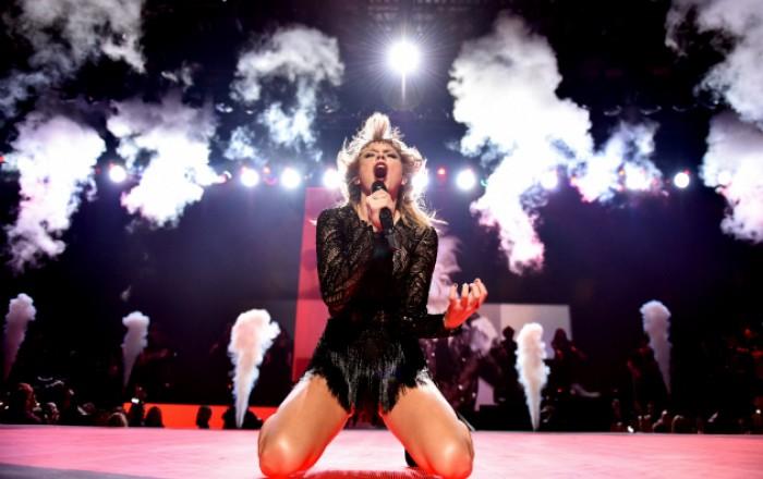 Taylor Swift da  el que podría ser su último concierto de 2017 en la previa de la Super Bowl