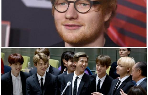 BTS y Ed Sheeran confirman una colaboración