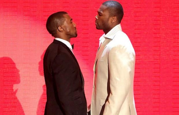 Bronca entre 50 Cent y Kanye West