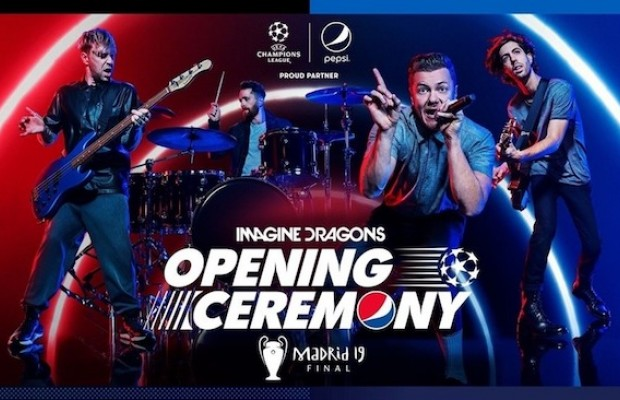 Imagine Dragons actuarán en la Final de la Champions 2019