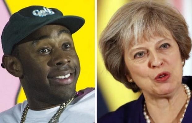 Tyler, The Creator le dijo esto a Theresa May