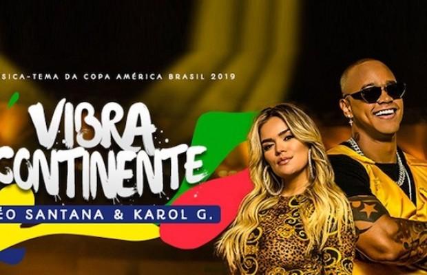 Karol G y la canción de la Copa América 2019