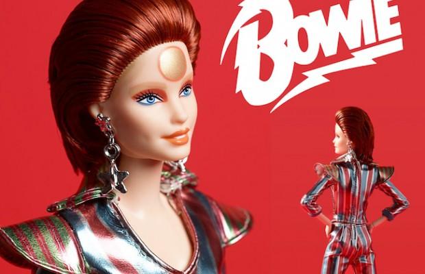 Barbie saca una muñeca David Bowie